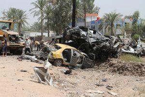 Mirtininko išpuolis Bagdade: mažiausiai 10 žmonių žuvo