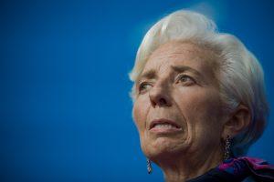 Tarptautinio valiutos fondo vadovė bus teisiama gruodžio viduryje