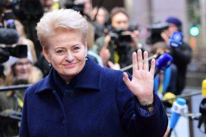 D. Grybauskaitė Rumunijoje susitiks su dalies ES valstybių lyderiais