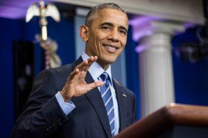 Amerikiečiai labiausiai žavisi B. Obama