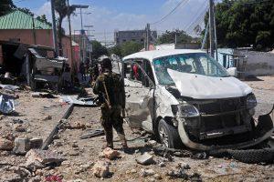 Per savižudžio ataką Somalyje žuvo mažiausiai 3 žmonės
