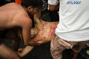 Filipinų policija per reidus nukovė 32 įtariamus narkotikų platintojus
