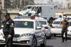 Armėnijoje per plikledį susidūrė per 50 automobilių, yra sužeistųjų