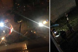 Tragedija Panevėžyje: prie namo laiptinės rastas moters lavonas su smurto žymėmis