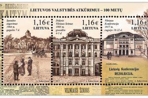 Pašto ženkluose – reikšmingos Lietuvai sukaktys
