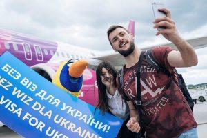 ES beviziu režimu pasinaudojo jau beveik 0,5 mln. ukrainiečių