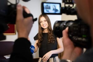 """I. Zasimauskaitės įvaizdis """"Eurovizijos"""" atidarymui: įvertinkite!"""