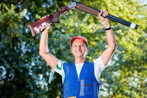 Šaulys R. Račinskas Latvijoje pagerino Lietuvos rekordą