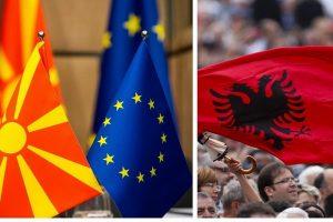 Paaiškėjo, kada prasidės derybos dėl Albanijos ir Makedonijos narystės ES