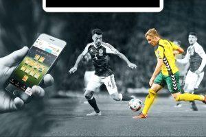 Futbolo entuziastai galės žaisti ir telefone