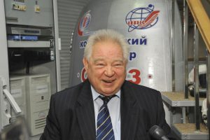 Mirė sovietų laikų kosmonautas G. Grečka