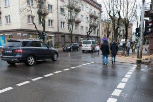 Vairuotojų kančios A. Mickevičiaus gatvėje baigėsi