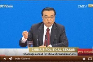 Kinijos premjeras: negalime ant savo pečių nešti viso pasaulio naštos