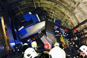 Maskvoje įgriuvo tunelis: žuvo vienas žmogus