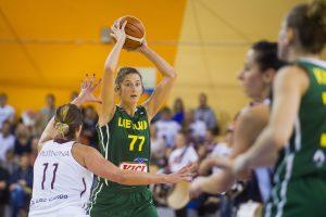 Lietuvos moterų krepšinio rinktinė pradėjo ruoštis atrankos rungtynėms