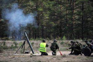 Per pratybas Pabradėje nukentėjo trys Vokietijos kariai