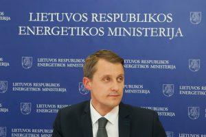 Energetikos ministerija: sieksime taikiai susitarti su Vokietijos investuotoju