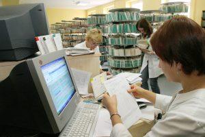 Gydymo įstaigose išrašyta per 200 tūkst. elektroninių receptų