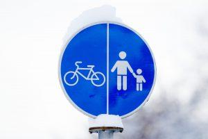 Puikios žinios: Kačerginėje – naujas dviračių takas