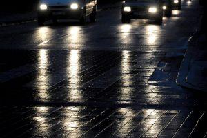 Klaipėdos gatves padengė plikledis