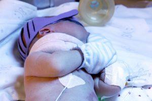 Kauno ligoninėje gydomas sunkiai sužalotas kūdikis