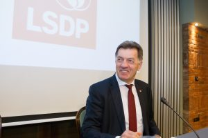 Socialdemokratai susitarė dėl pirmininko rinkimų tvarkos