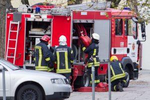 Liepsnose Varėnos rajone žuvo vyras