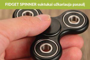 """""""Fidget spinner"""": trumpalaikė mada ar naudingas daiktas?"""
