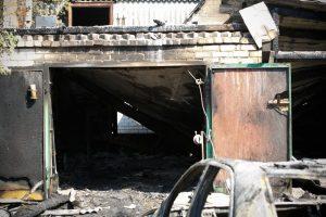 Ugniagesius ant kojų sukėlė gaisras Kauno senamiestyje