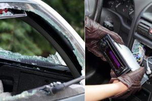 Jonavoje per parą trylika automobilių apvogę jaunuoliai – pareigūnų rankose