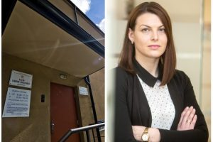 """Su """"Niklita"""" besibylinėjančiai R. Kazėnienei – Teisingumo ministerijos parama"""