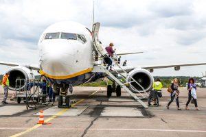 Lietuvos oro uostuose šią savaitę – daugiau keleivių, bet ne dėl Velykų