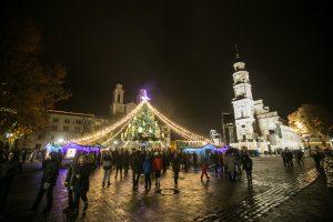 Kaunas pradeda ruoštis Kalėdoms