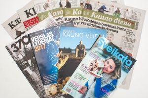 Tyrimas: lietuviai spauda pasitiki labiau nei interneto portalais