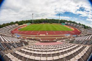 Teismo sprendimas stabdyti darbus stadione prieštarauja įstatymams?