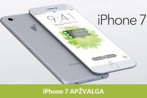 """Naujasis """"iPhone 7"""": revoliucija ar evoliucija?"""