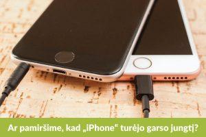 """Greitai pamiršime apie """"iPhone"""" ausinių lizdą?"""
