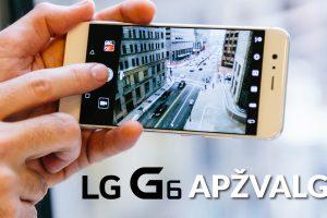 """Naujasis """"LG G6"""": kuo nustebins jį pasirinkusius?"""