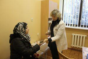 Pabėgėlių centro gydytoja: į medikus svetimšaliai kreipiasi nuolat