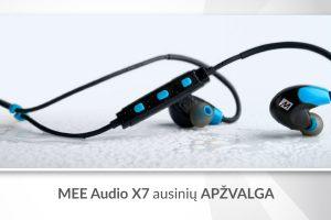 """""""MEE Audio X7"""" ausinės: kodėl verta turėti?"""