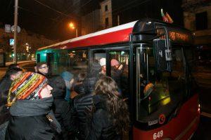 Kaip naujametinę naktį važiuos viešasis transportas?