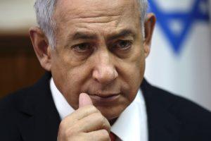 B. Netanyahu pripažino – Izraelis atakavo taikinius Sirijoje