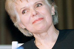 Netektis: mirė aktorė N. Gelžinytė