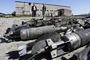 Ukrainoje sprogus amunicijai žuvo trys žmonės, tarp jų – NATO stebėtojas