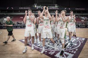 Lietuvos 18-mečiai susitvarkė su vokiečiais ir iškovojo bilietą į pasaulio čempionatą
