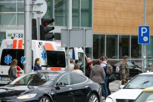 Šiauliuose automobilis sužalojo į kelią išbėgusį septynmetį