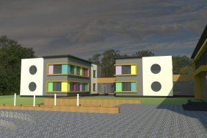 Ramučių bendruomenei pristatytas daugiafunkcio centro projektas