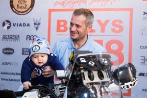 B. Bardauskas – į Dakarą dėl kitų
