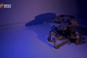Lietuvio kūrinys – gyvą padarą primenantis robotas