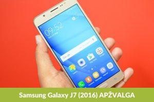 Galaxy J7 – daugiau nei įrenginys asmenukėms?